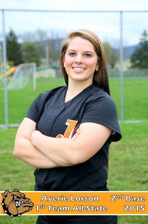 Averie Lorson - 2nd base - 1st Team All-State - Softball 2014-15