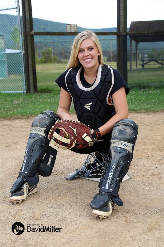 Jessica Willits - All-State Softball Catcher 1516