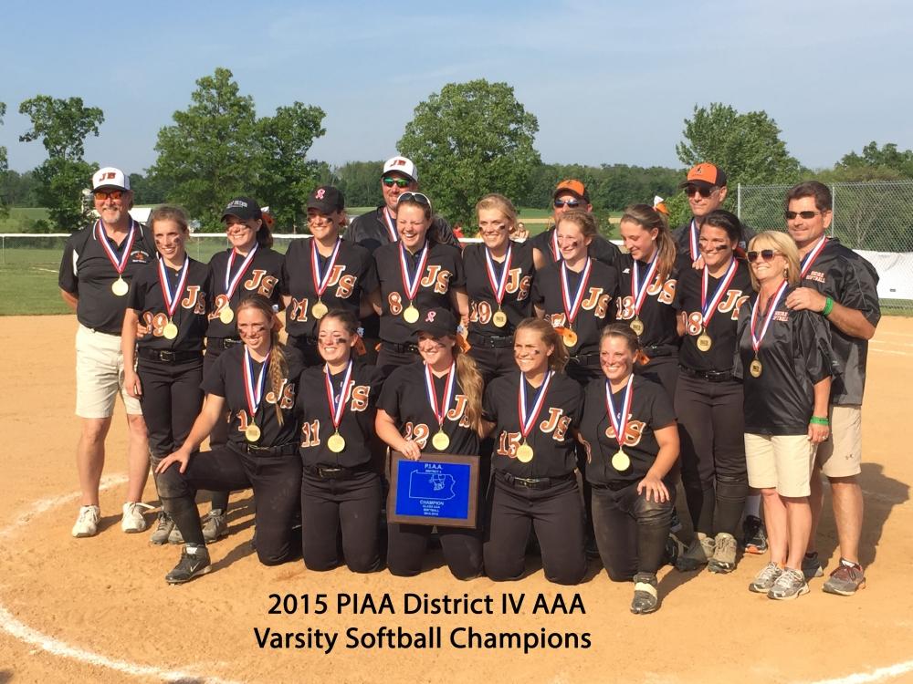 Softball 2015 District IV AAA Champions